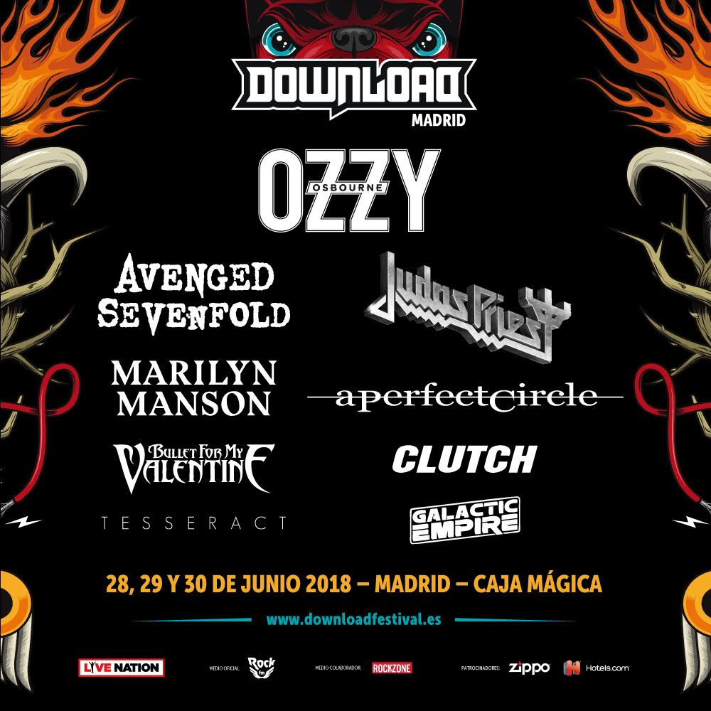 Marilyn Manson will perform at Download Madrid! The festival takes place June 28-30 2018.  https://t.co/YzG3tSzukd https://t.co/gFN5RGPyb8
