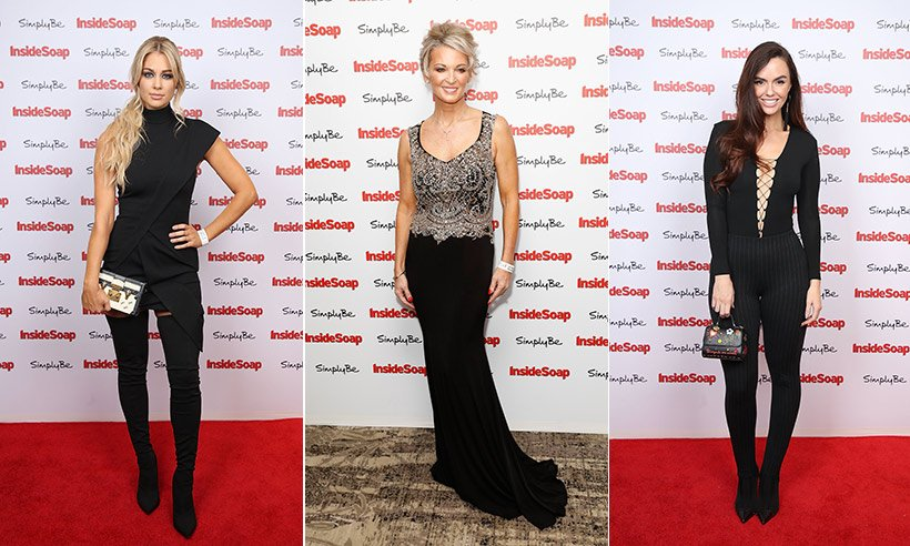 See which stars won big at tonight's Inside Soap Awards!