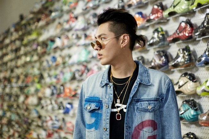"""Happy Birthday Kris Wu. We JUST went  \""""Sneaker Shopping\"""" with the birthday boy:"""