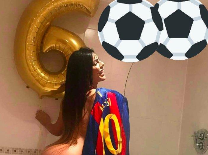 RT @eldiariony: Miss Bumbum dedica un desnudo a Messi por sus 600partidos | El Diario NY https://t.co/YMbxZOlfpl https://t.co/2SY6aWayA0