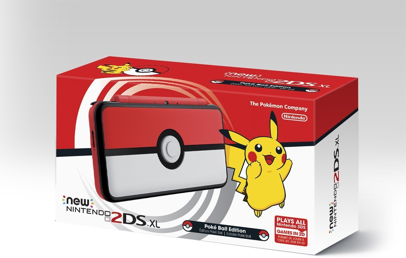 Make an adventurous statement with the Poké Ball Edition New Nintendo #2DSXL, available now! https://t.co/C06grfC7kN https://t.co/YG0IMymJw8