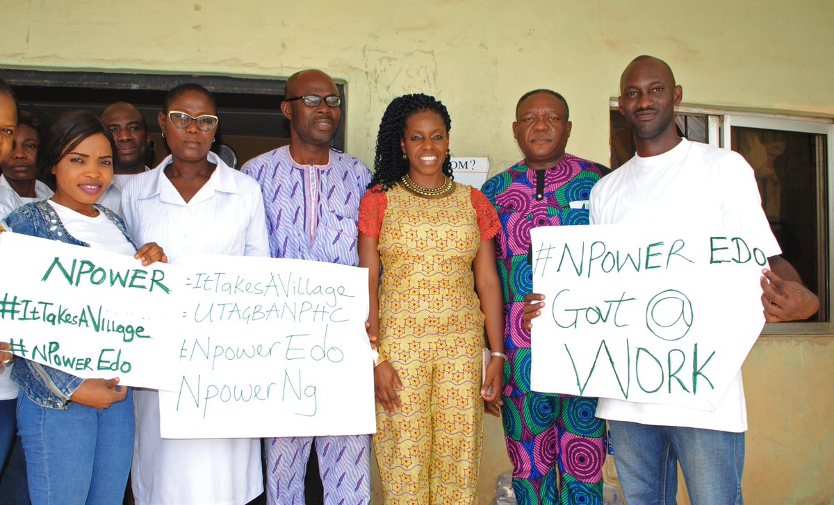 N-Power Health Volunteers take malaria outreach to Oredo LGA
