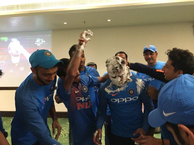 Exclusive Pictures From Virat Kohli\s Birthday Celebration! Happy Birthday Virat! 2/2