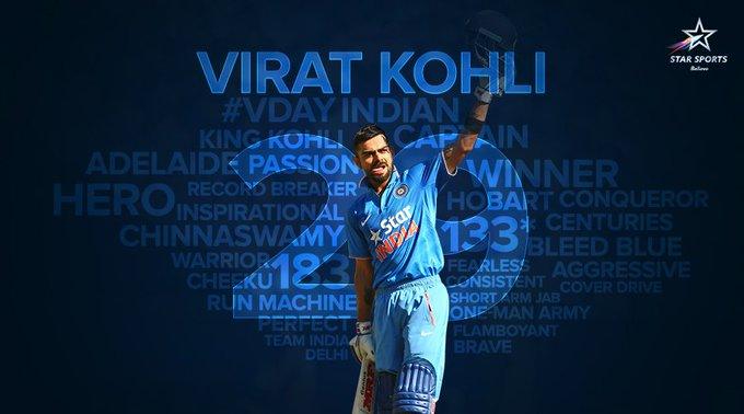 India\s run machine and India\s captain Virat Kohli happy birthday