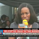 Pilot of chopper that crashed into Lake Nakuru buried in Bondo