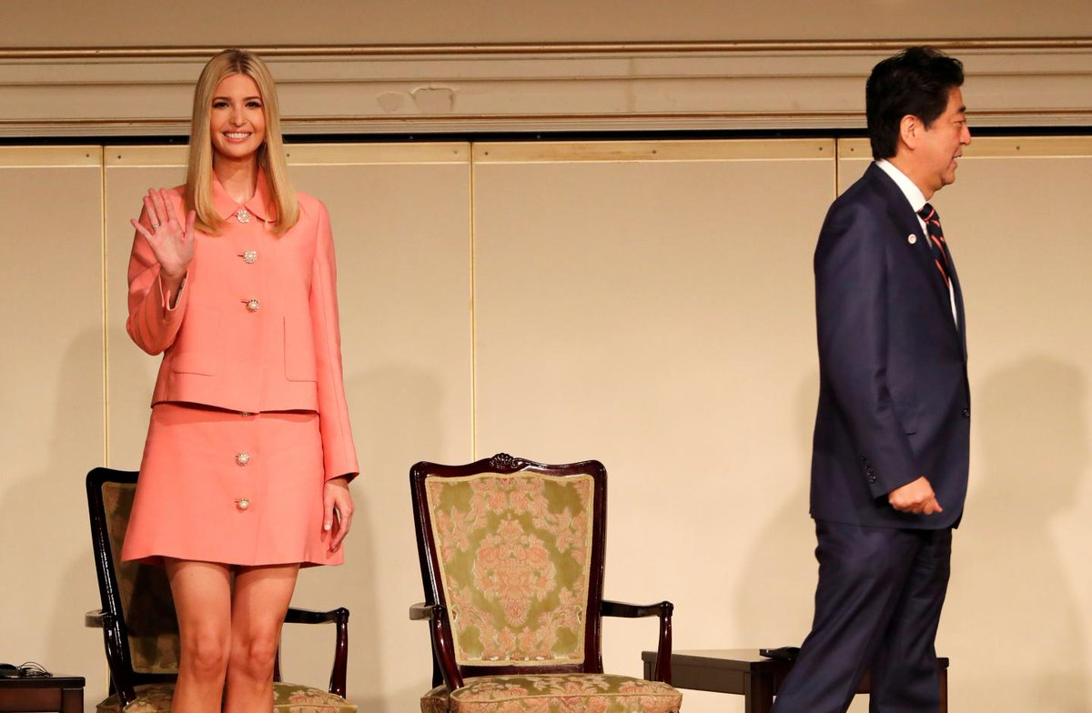 Ivanka Trump's comments on sex harassment in Japan raised eyebrows