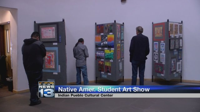 Exhibit showcases art of Native American youth