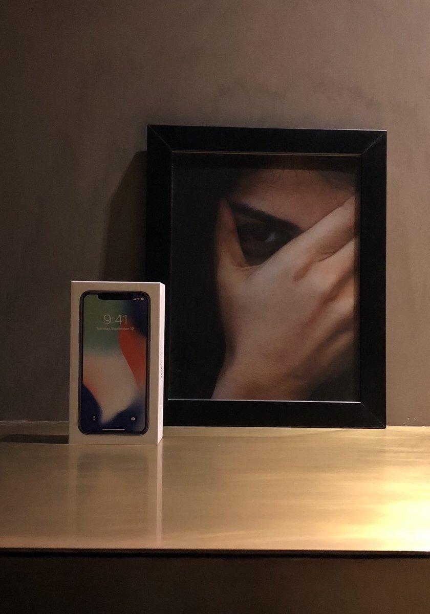 #iPhoneX
