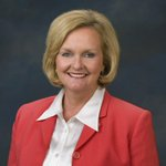 McCaskill says husband home from hospital after heartattack