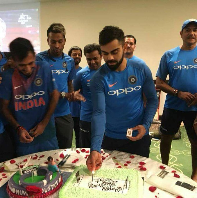 Happy birthday kohli