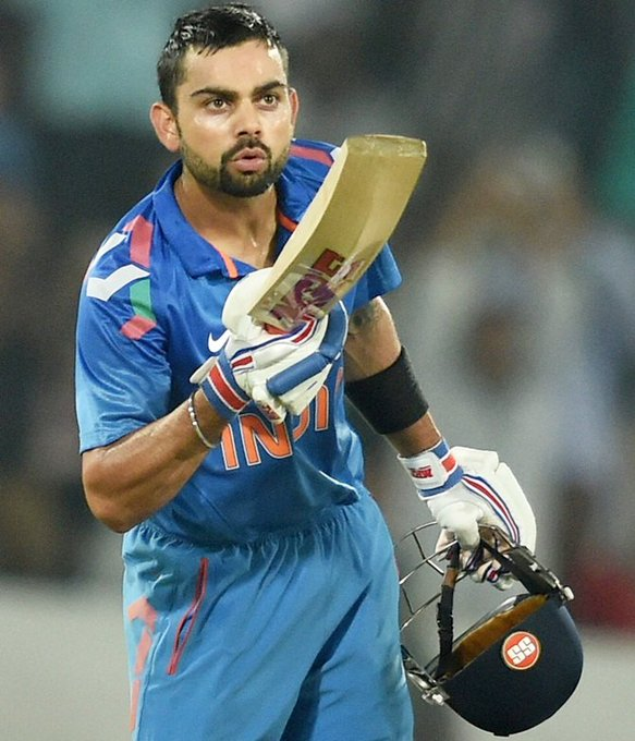 Wish u a very very Happy Birthday to run machine Virat Kohli  love u,