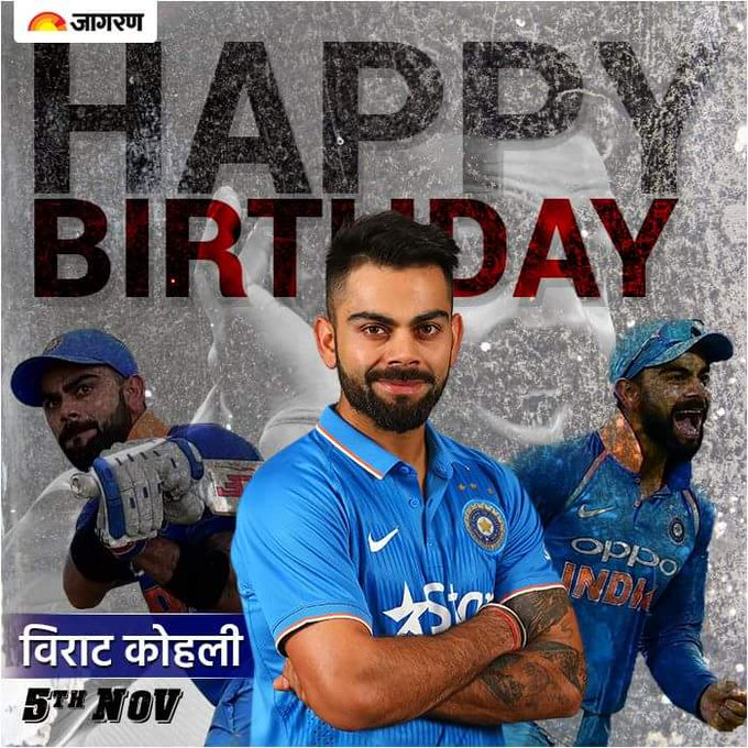Happy birthday virat kohli  .