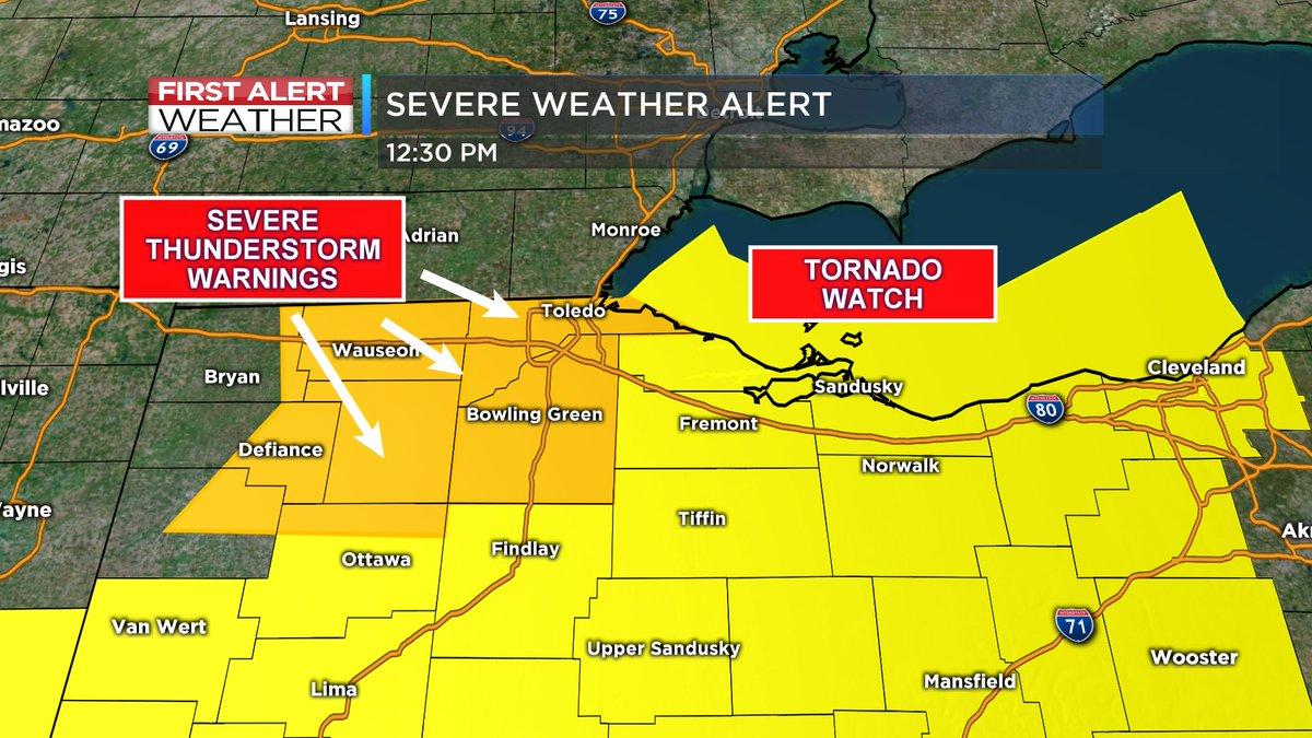 RETWEET  New Severe Thundersto severe thunderstorm warning