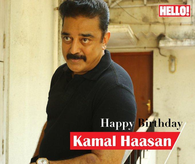 HELLO! wishes Kamal Haasan a very Happy Birthday
