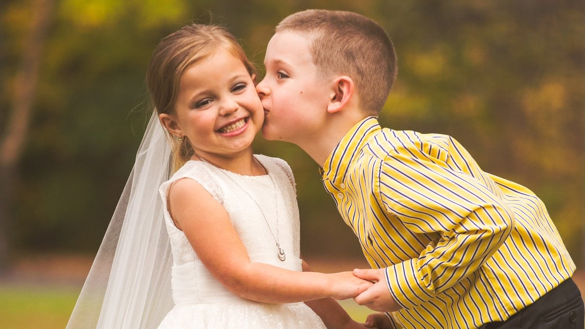 Seriously ill 5-year-old gets the wedding photo shoot of her dreams