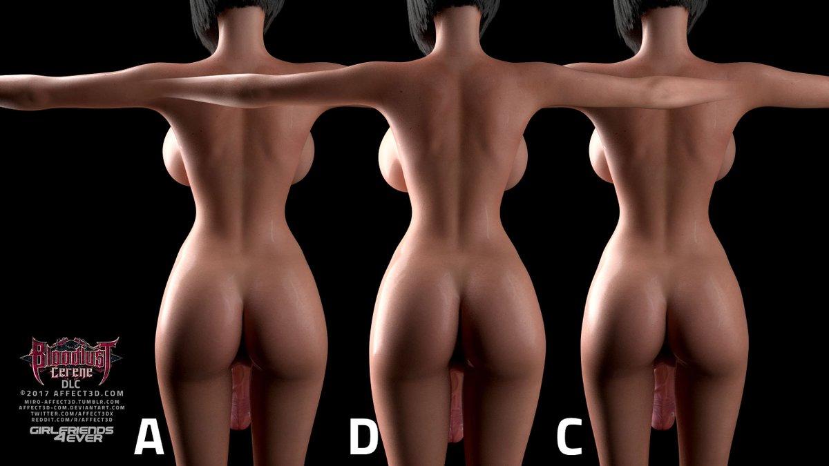 1 pic. Your task is simple... Pick an ass #porn #sex #shemale #dickgirl #futanari #nsfw #hentai /