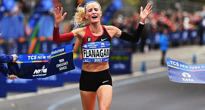Marblehead Native Shalane Flanagan Wins NYC Marathon, Ending USDrought