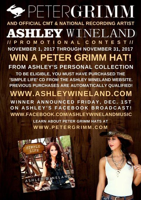 Official Website for CMT Artist Ashley Wineland