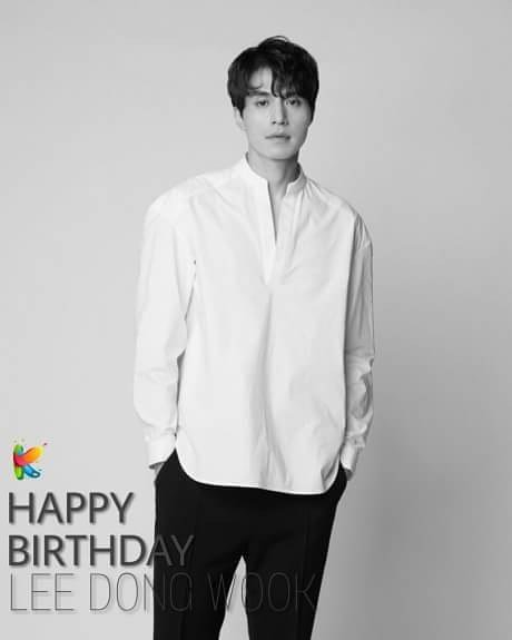 {HAPPY BIRTHDAY LEE DONG WOOK  }