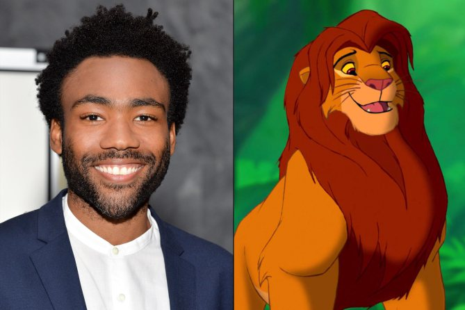 Here's who's playing who in Disney's live action LionKing: