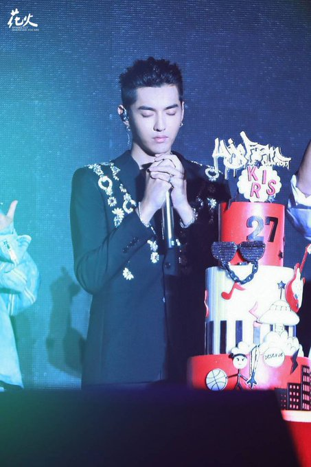 Happy birthday to Kris Wu.