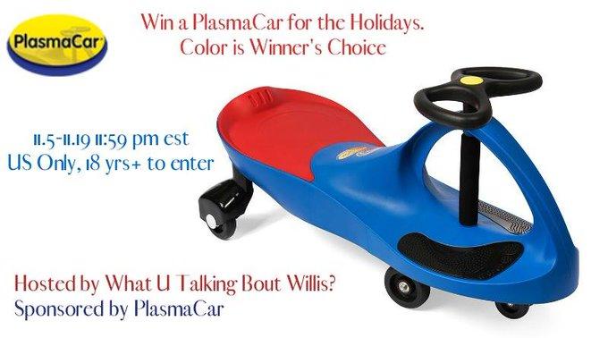 PlasmaCar Giveaway (11/19 US)