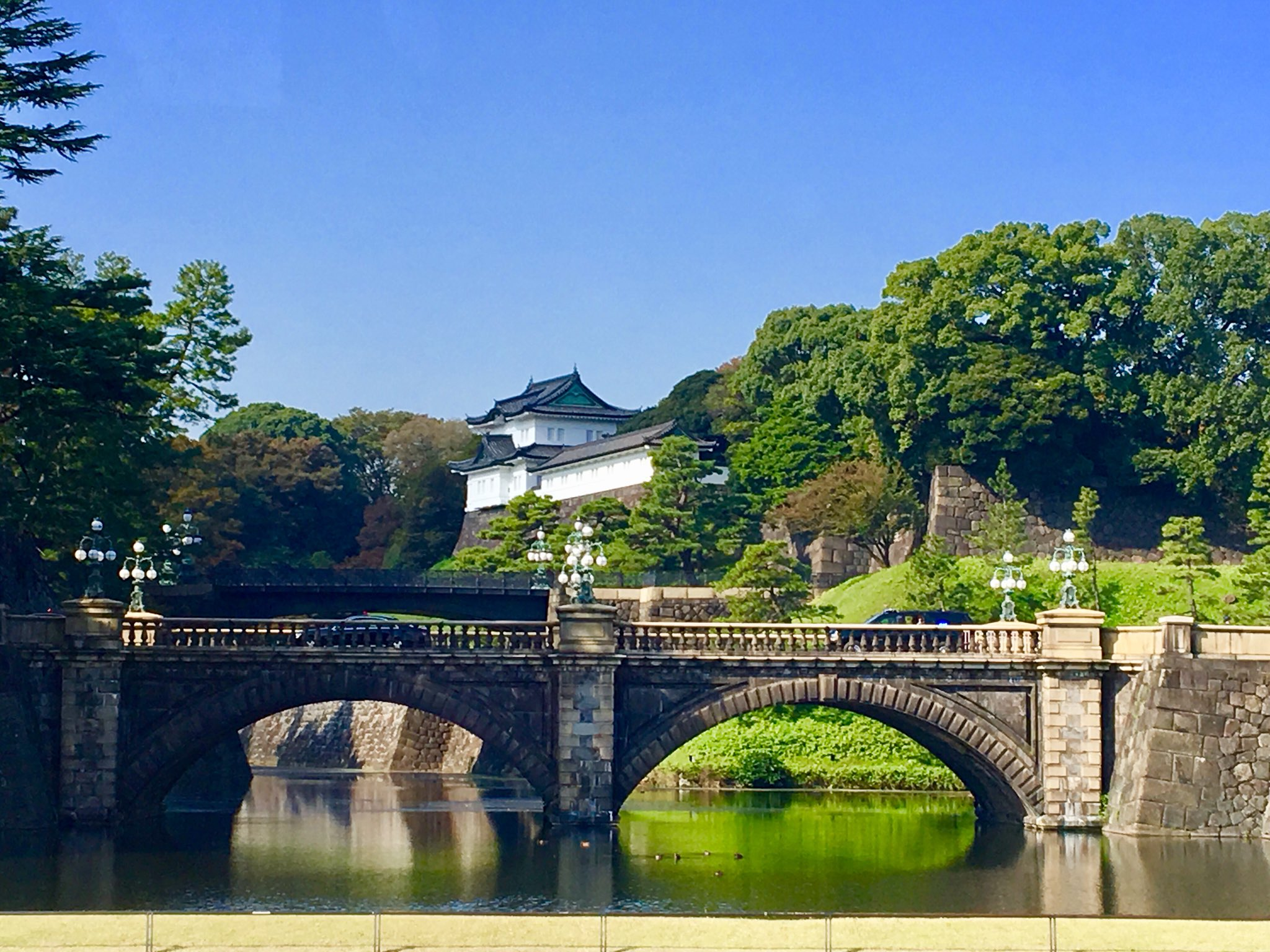 The Imperial Palace where @POTUS met with the Emperor and Empress of Japan. #POTUSInAsia https://t.co/MFV8skjVwF