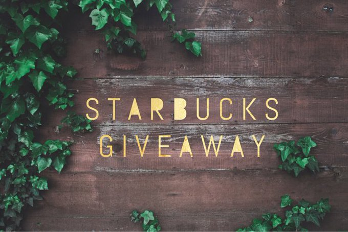 $150 Starbucks Gift Card Giveaway (11/22 WW)