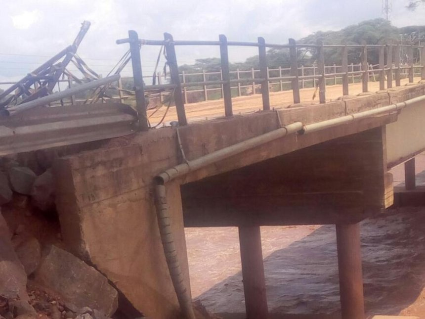 Kainuk bridge damaged less than two weeks after repairs