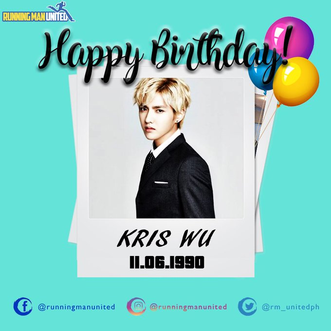 Happy Birthday Kris Wu!