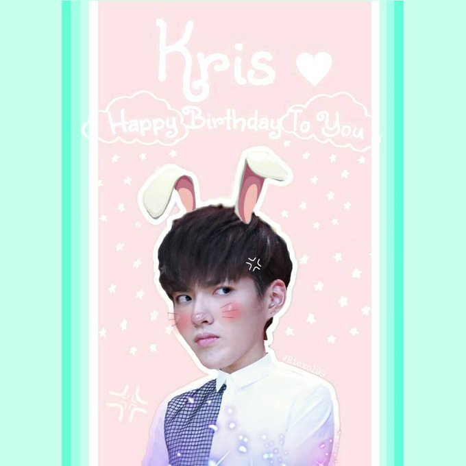 Happy Birthday Kris Wu Keep your health and success.