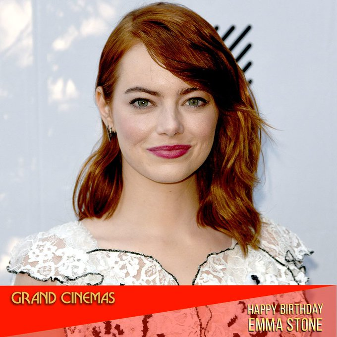 Happy Birthday to one of the best Hollywood actresses, Emma Stone!