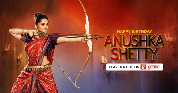 Wishing this warrior princess, Anushka Shetty a very Happy Birthday!  Play her hits here: