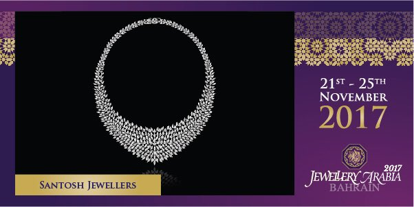 test Twitter Media - Santosh Jewellers' four main pillars are design, quality, honesty and service 💍 #santoshjewellers #jewelleryarabia2017 #elegant #beautiful #classy https://t.co/q8m896Q8WK