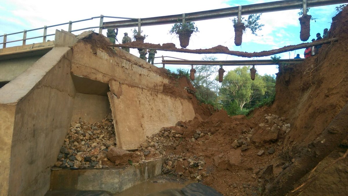 Repair of Kainuk bridge to take two days-KeNHA
