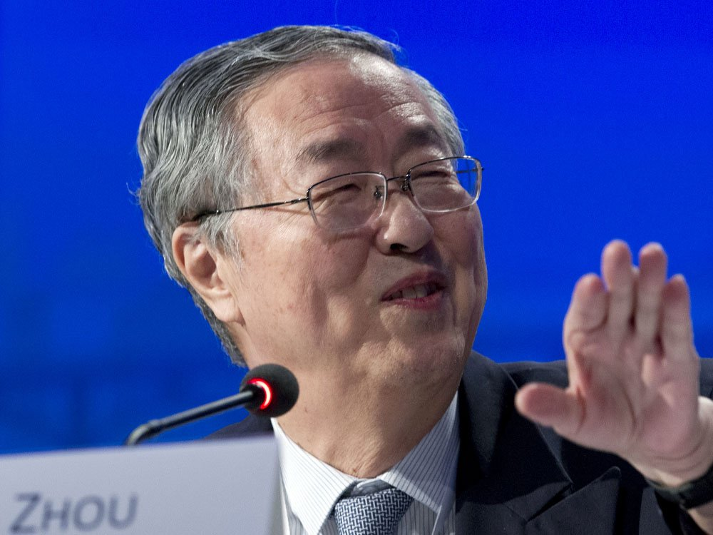 China's central bank boss renews warnings about financial risk