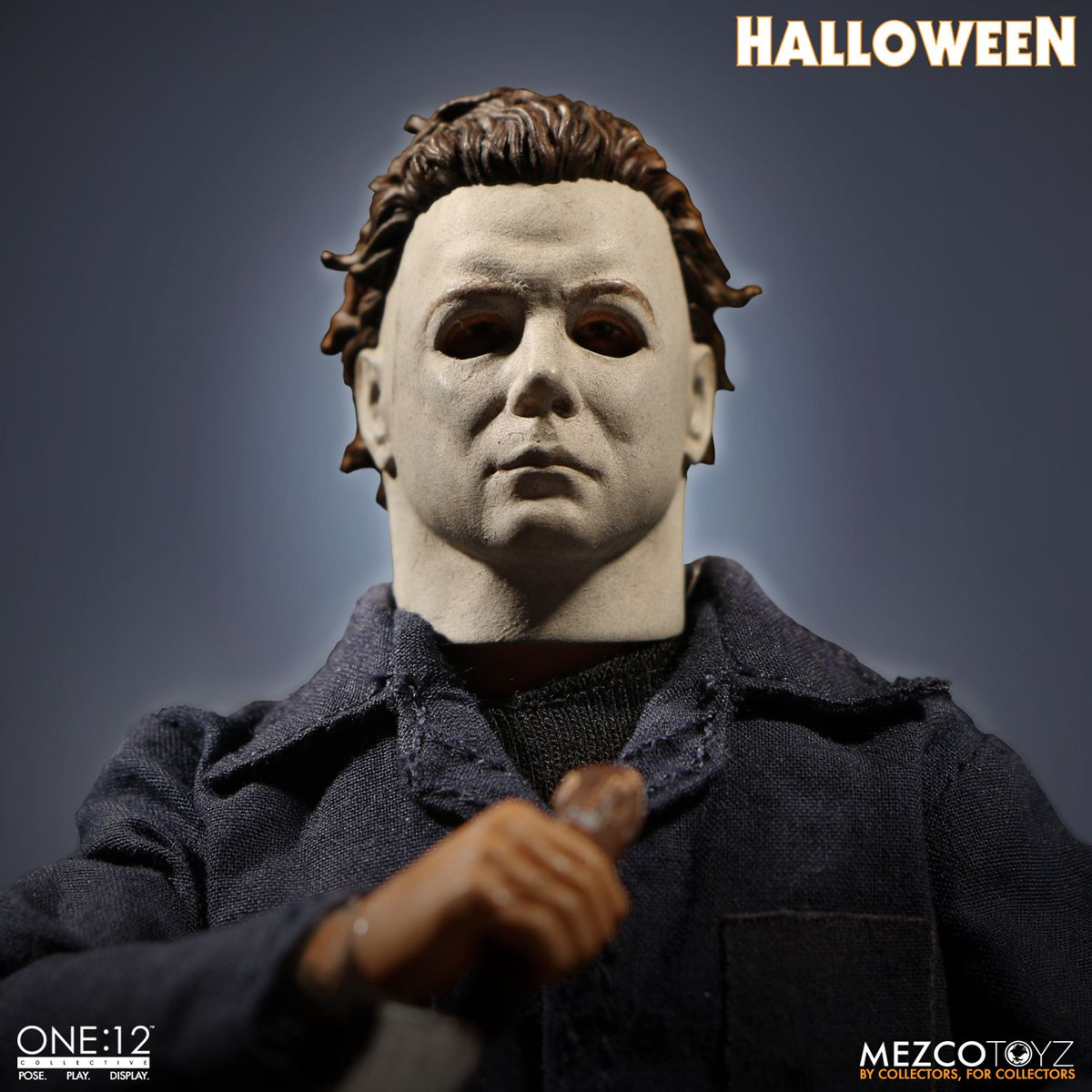 Available for Pre-order from @mezcotoyz The ONE:12 Collective #MichaelMyers #Halloween Figure. #MyersMonday    https://t.co/Eb4W9gNVGJ https://t.co/5Jmv6NA4ep