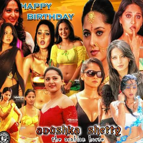 Happy Birthday Anushka Shetty