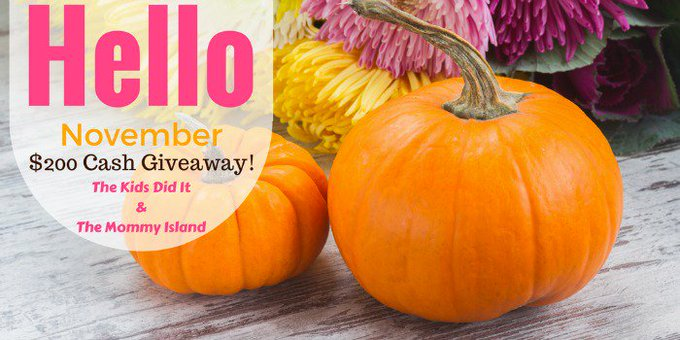 $200 Hello November Giveaway