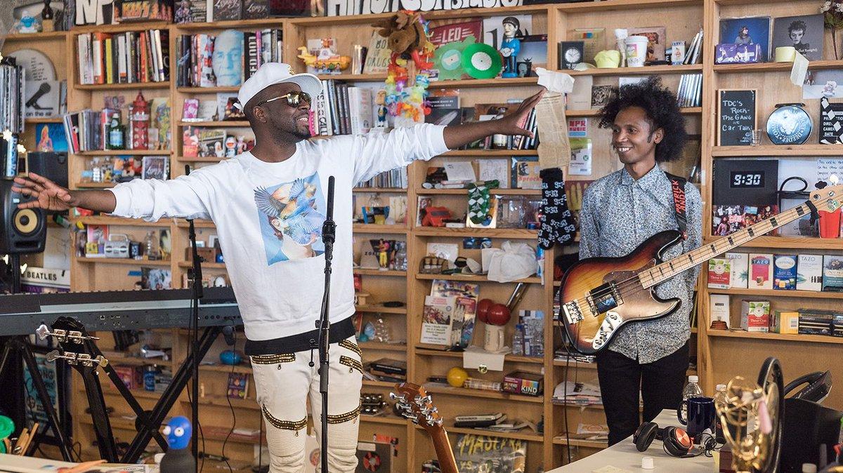 RT @thefader: It's November, so enjoy @wyclef's Tiny Desk Concert. https://t.co/fEOlnxRoen https://t.co/1robLRk2ua
