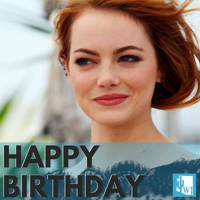 Happy 29th birthday to Arizona native Emma Stone!!   What are some of YOUR favorite Emma Stone movies? Let us know.