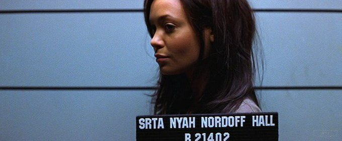 New happy birthday shot What movie is it? 5 min to answer! (5 points) [Thandie Newton, 45]