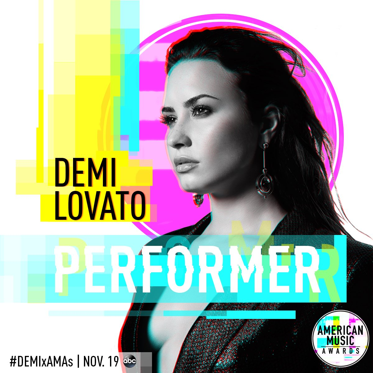 SO excited to take the @AMAs stage on Sunday, November 19th!!! �� #DEMIxAMAs https://t.co/eFv1fbLJaX