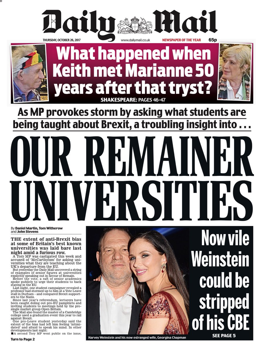 Thursday's DAILY MAIL: Hurrah For The Blackshirts #tomorrowspaperstoday https://t.co/ZKrB5snVWz