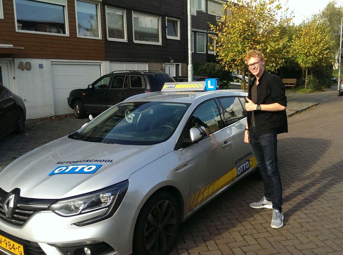 test Twitter Media - Gefeliciteerd Robby Lagendijk! Na een keurige rit met de complimenten van de examinator in 1x geslaagd voor je rijbewijs. https://t.co/zV54TlzYwk