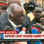 Election on 26th October? Not possible if the High Court ruling is anything to go by - Khaminwa