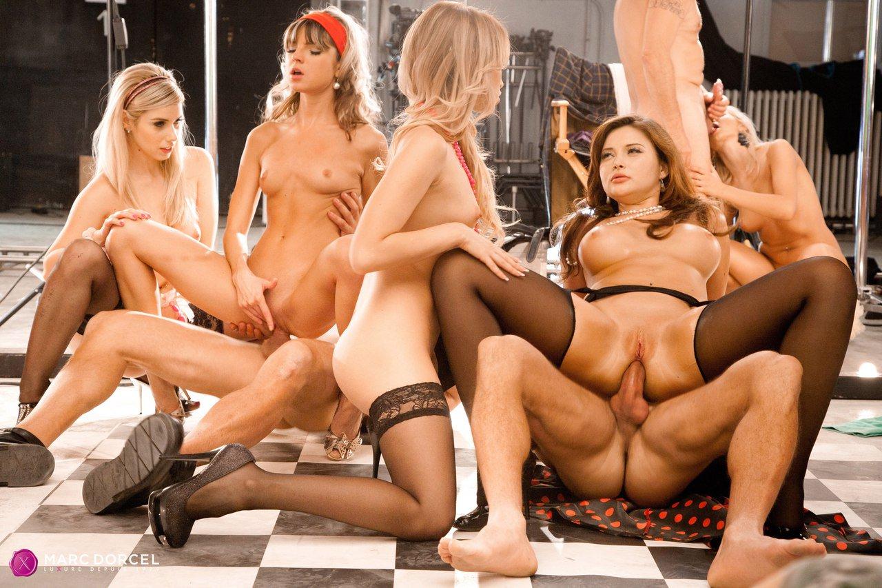 Euro Classroom Orgy - Online szex videók pornó film