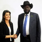 Nikki Haley, U.S. ambassador to United Nations, evacuated from South Sudan camp