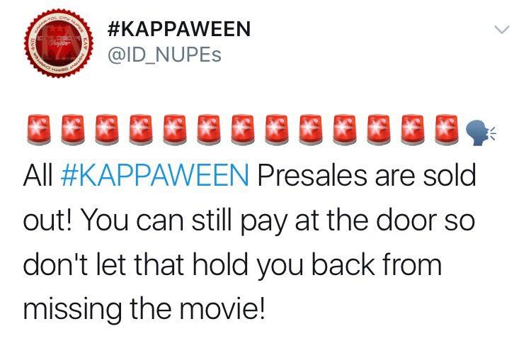 #KAPPAWEEN
