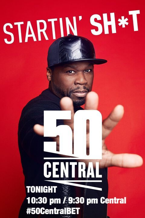Get Ready #50CentralBET starts soon ???????????? 10:30pm est https://t.co/bohfz9FBOj